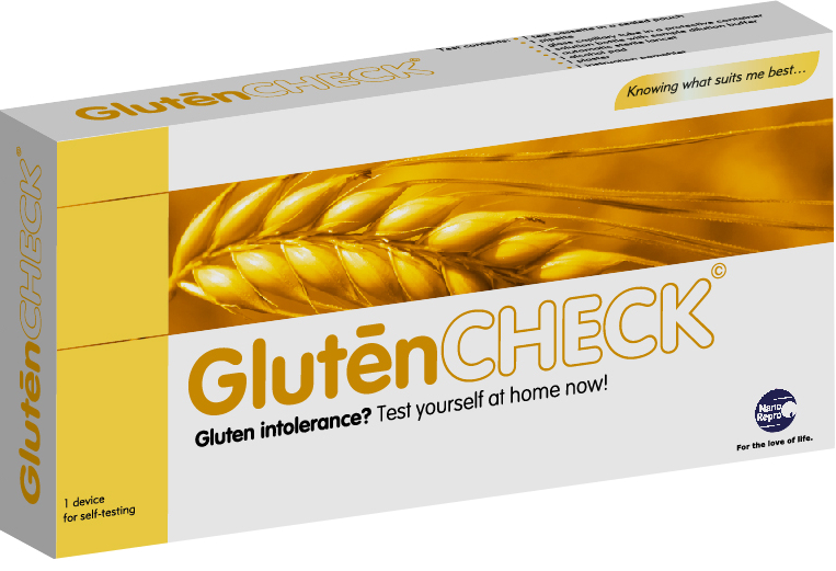 GlutenCHECK rapid test to detect the presence of IgA (tTG) in whole blood